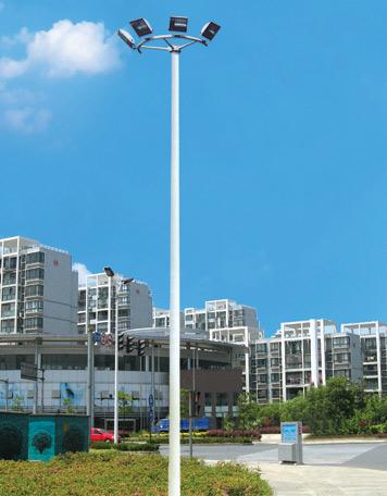 弘旭照明专业生产15米4火户外高杆灯
