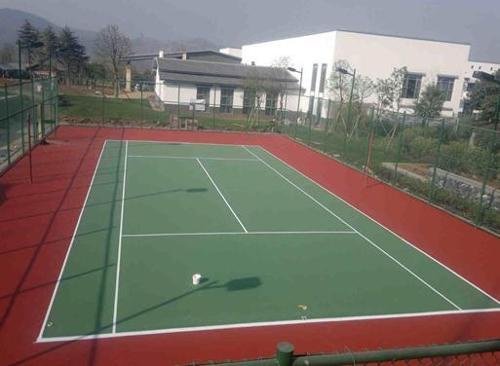 德海体育弹性丙烯酸网球场硬地丙烯酸网球场材如图所示是射击比赛的图图片