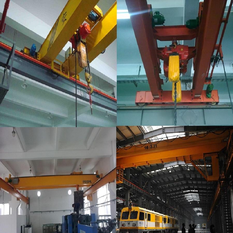 lh型号电动葫芦双梁桥式起重机 电动葫芦5吨10吨图片