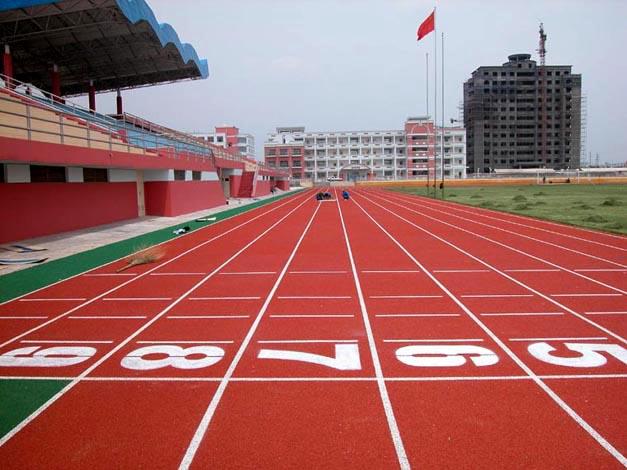 图案300百米塑胶跑道尺寸图-体育铺装图案