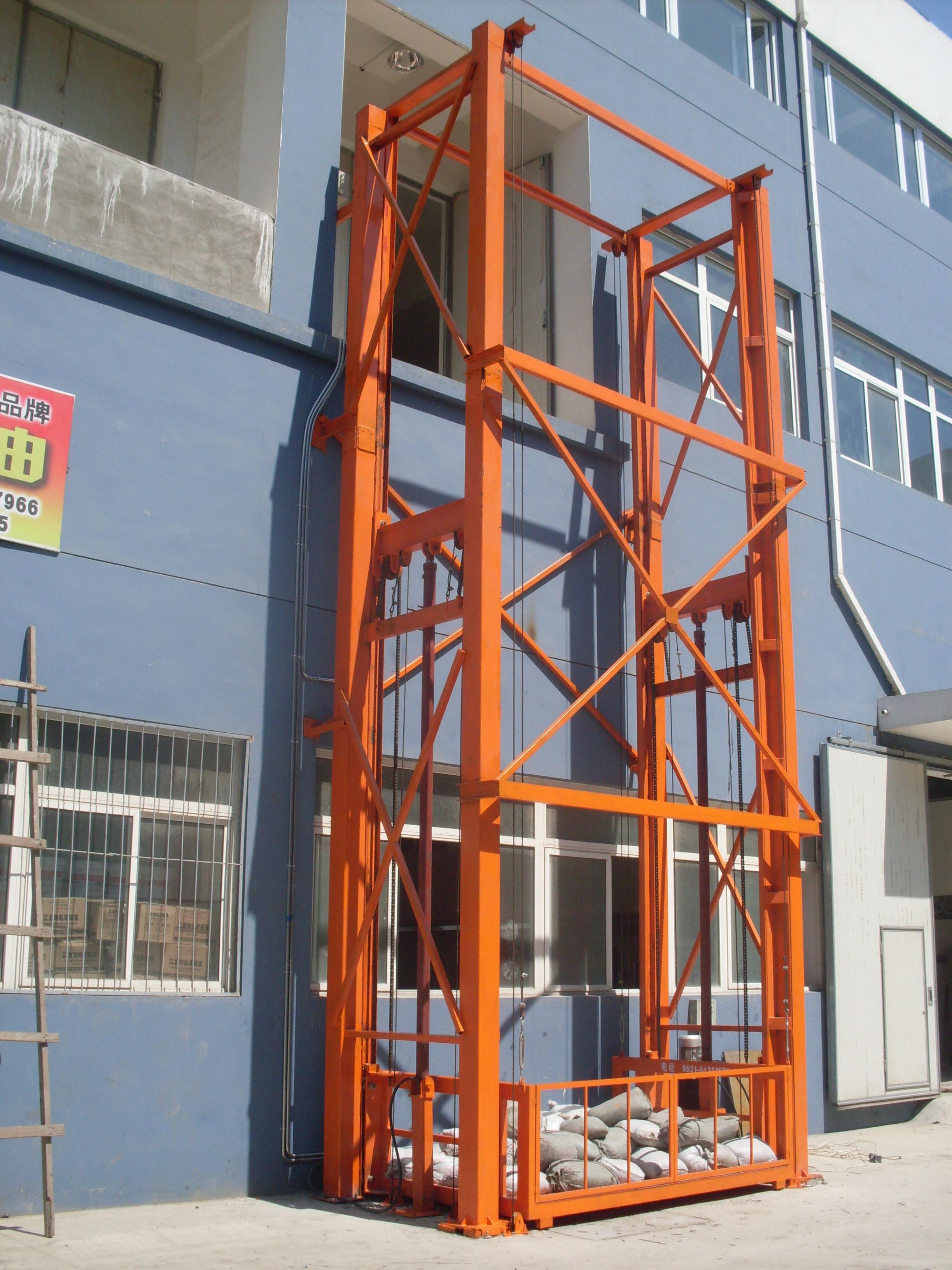 一般液压升降机生产周期为15个工作日,安装5个工作日,免费保养一年,经图片