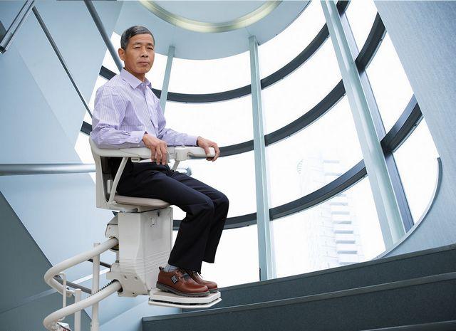 直销启运无障碍电梯家用名称爬楼小型升降机花园别墅别墅家庭图片
