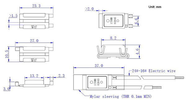 热保护器结构图纸