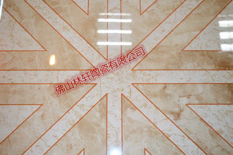 酒店大堂客厅地面铺贴砖