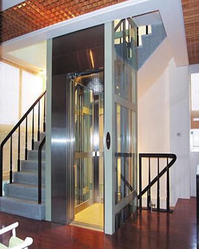 商场室内别墅别墅老年人小型家用残疾人无障碍柳小海电梯图片