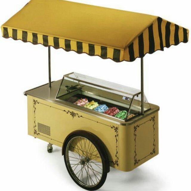 浩雪冷柜car系列冰淇淋售卖车