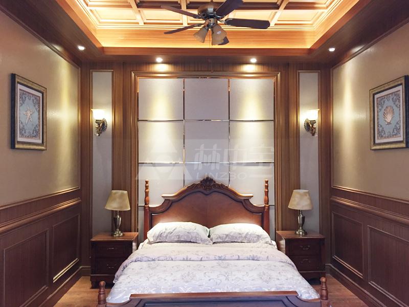 木塑材料 > 特价生态木边线 室内墙板装饰线条 80边线         林中宝图片