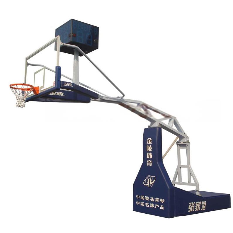 金陵 电动液压篮球架 ylj-5图片