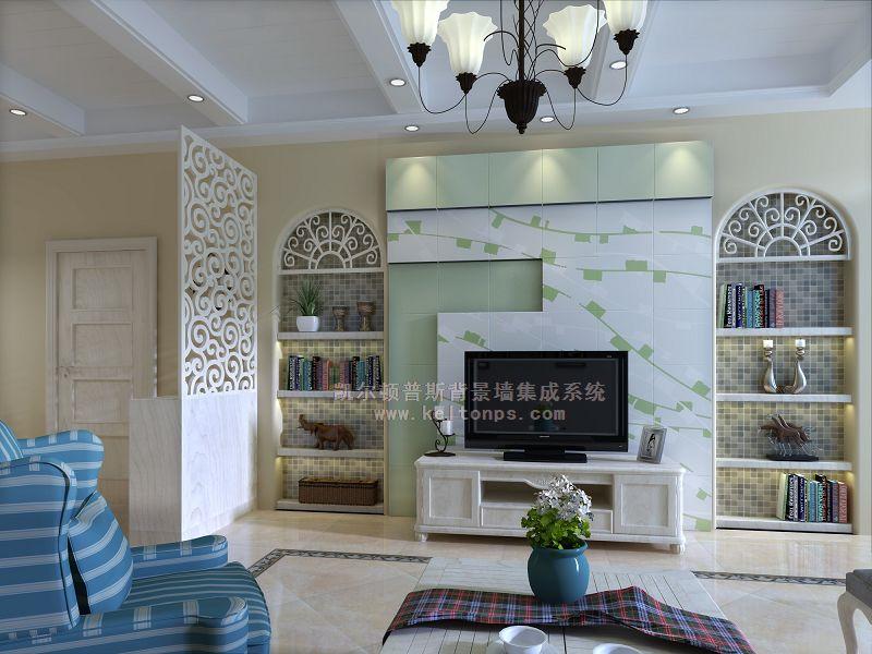客厅背景墙取样电视背景墙的边图片14