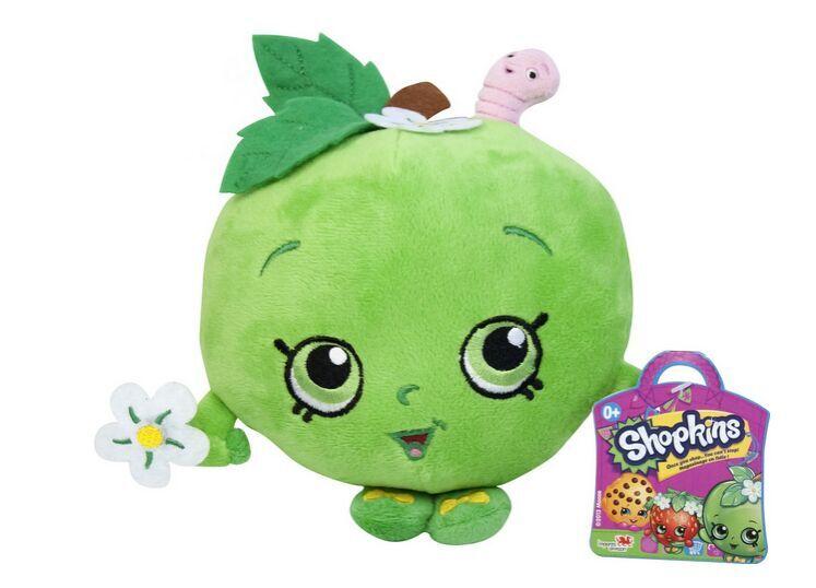 绒玩具可爱小苹果