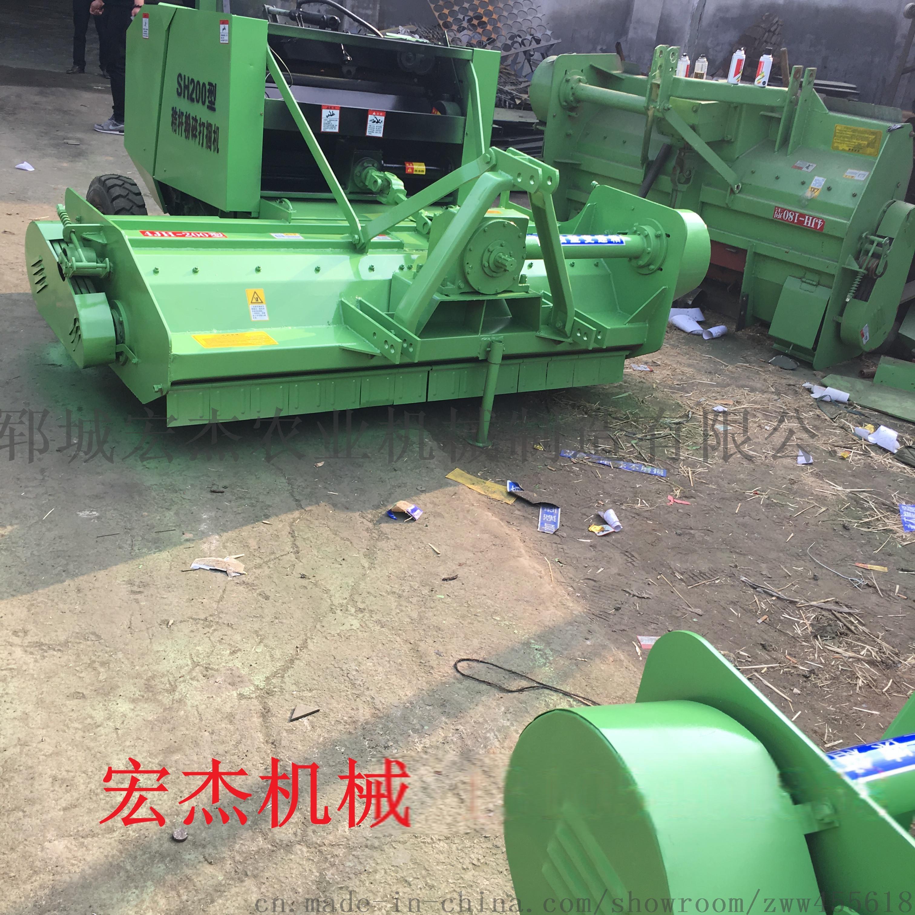 厂家供应玉米秸秆粉碎捡拾打捆机