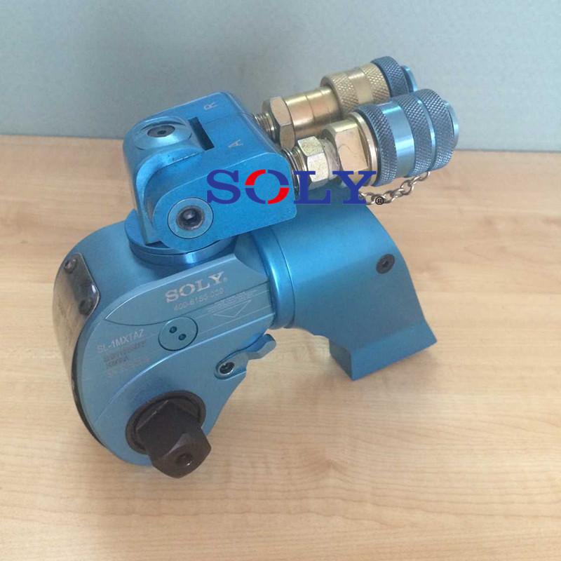 扳手单次操作旋转角大及快速的回程钢制驱动式液压扭矩扳手反作用力在图片