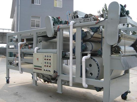 清水dyl带式压滤机 污泥处理设备 污泥脱水机