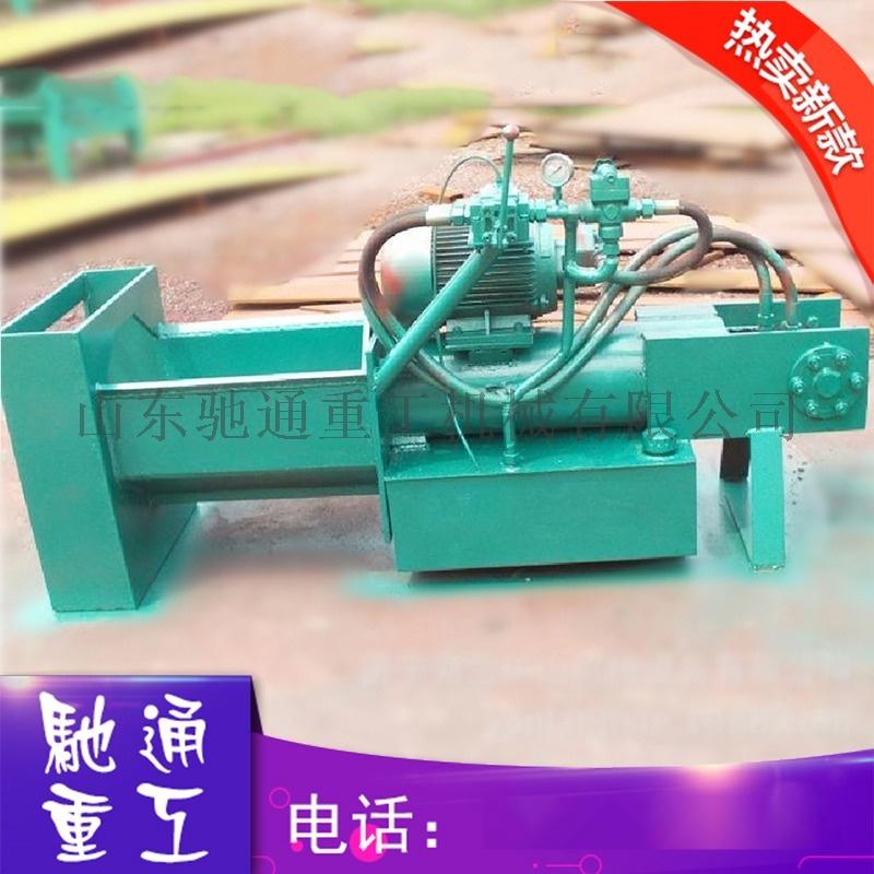 小型卧式劈木机 电动液压劈木砍柴设备 家用劈柴机图片