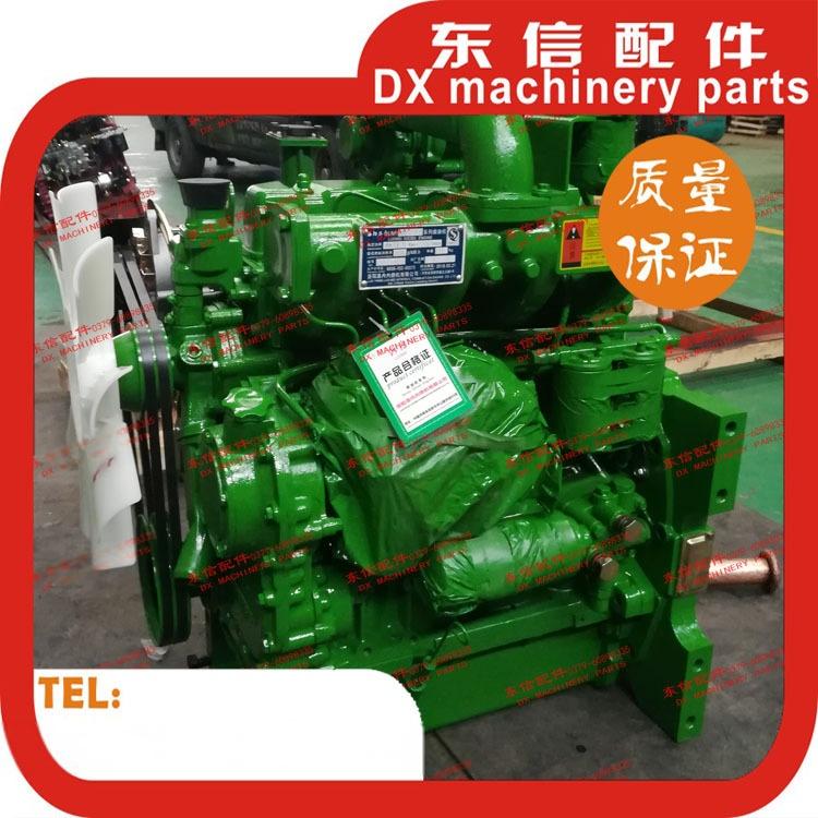 洛阳柴油发动机总成lr4b3zt101配约翰迪尔904增压机100马力图片