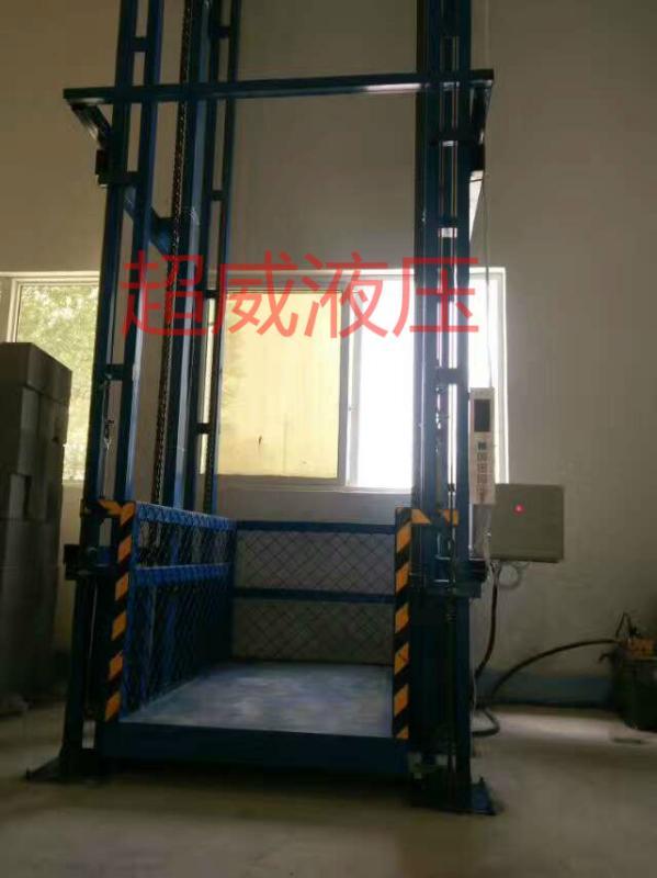 导轨式液压货梯升降平台图片