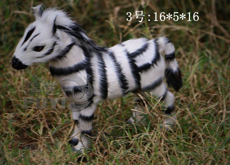 仿真野生动物模具/仿真斑马/影视摄影野生动物道具/家居摆件工艺品