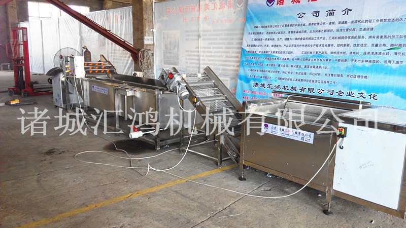 汇鸿hql-3000大型土豆清洗流水线图片