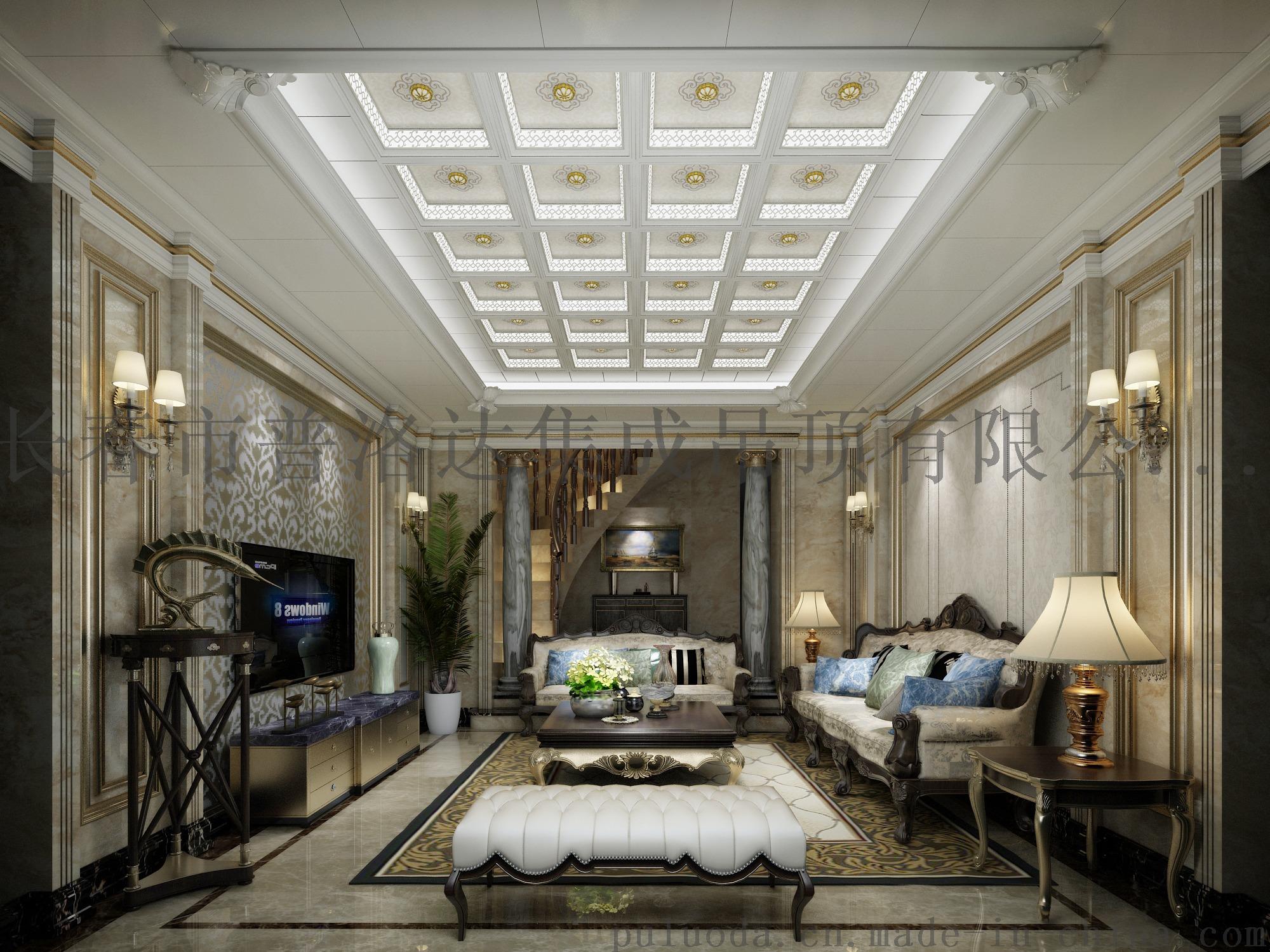 4莫奈欧式客厅