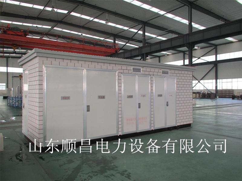 淄博箱式变电站&山东顺昌电力图片