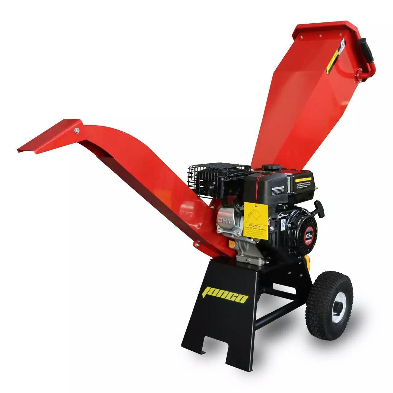 洋工cp20碎枝机/果树枝粉碎机,高效率,轻便移动式,汽油机动力粉碎机