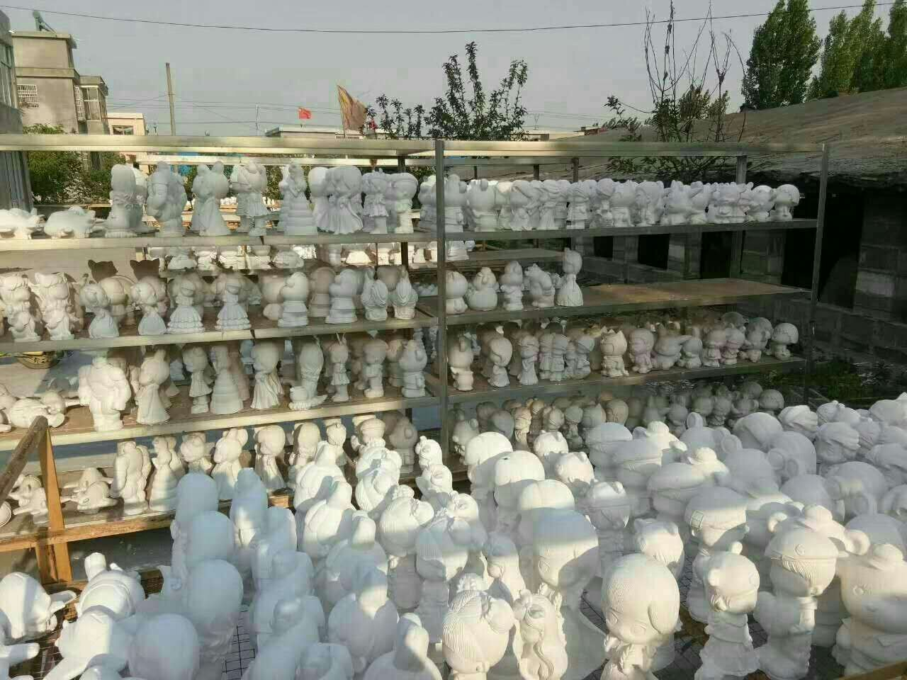 亳州市儿童卡通石膏彩绘娃娃,优质石膏娃娃批发,石膏像模具批发