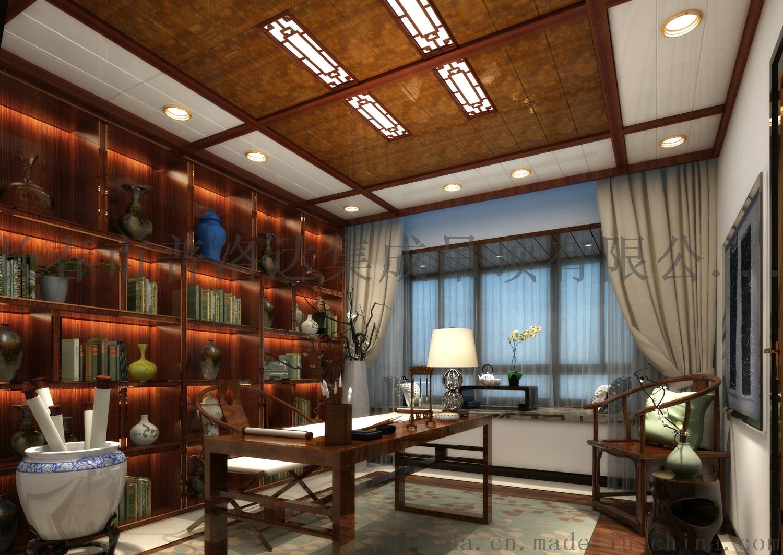 7莫隐朱丝中式书房
