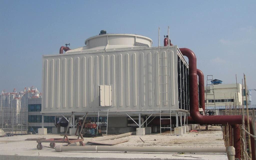 冷却塔水泵扬程_开式冷却塔水泵扬程(约)=水池液面与入水口液位差 阻力损失.