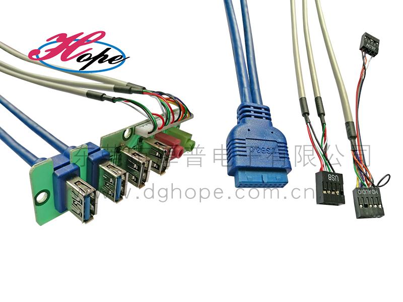 厚普样式连接线电脑直销USB3.0线材音视频连cad打印导入厂家图片