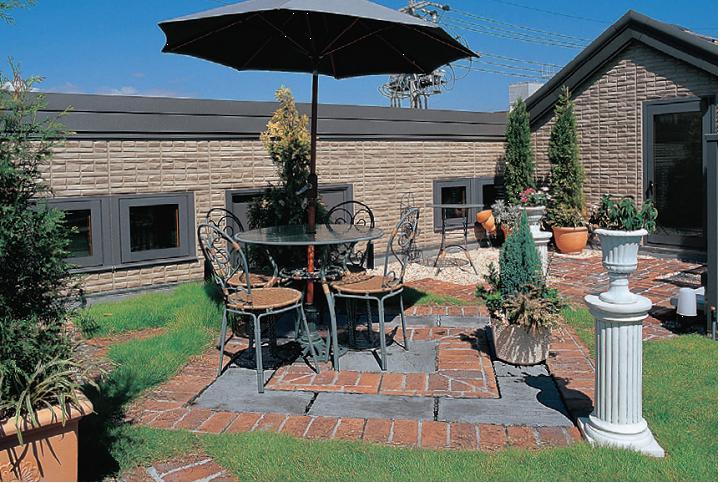 耐久性:抗冻融200次;通体色彩,30年不退色   用途:庭院铺装,园林图片