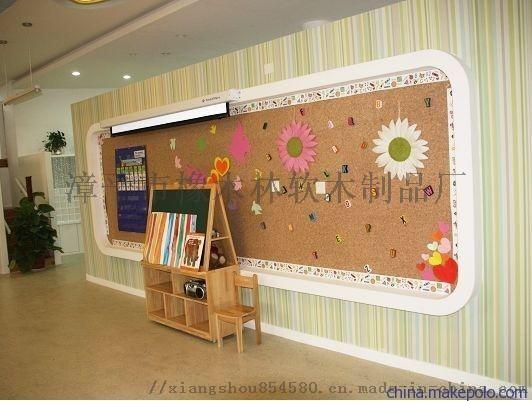 供应福州幼儿园软木隔音板 软木照片墙大量现货