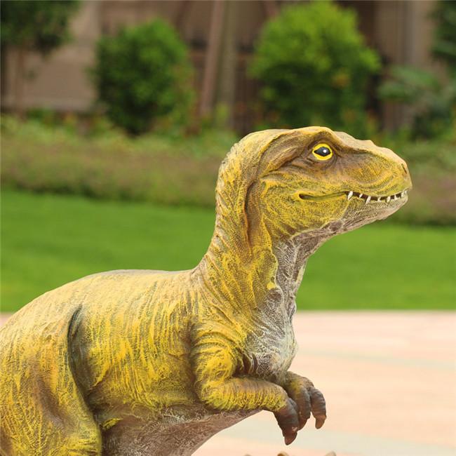 [供应]深圳欧泰斯玻璃钢树脂工艺品厂家定制动物雕塑大型大恐龙 商标