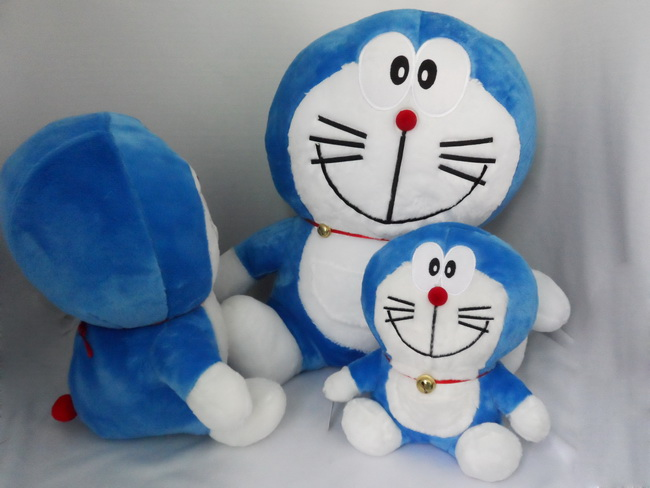 卡通哆啦a梦 叮当猫毛绒玩具动漫公仔机器猫   本司产品图片均为实物