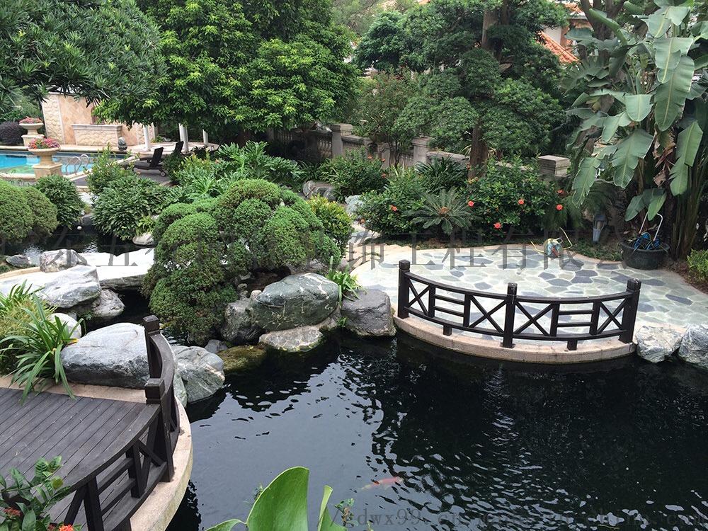庭院假山专业别墅鱼池五行设计与施工买园林松山湖图片