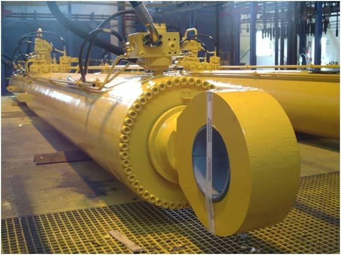 成都锐联d25大型高压重型液压缸图片
