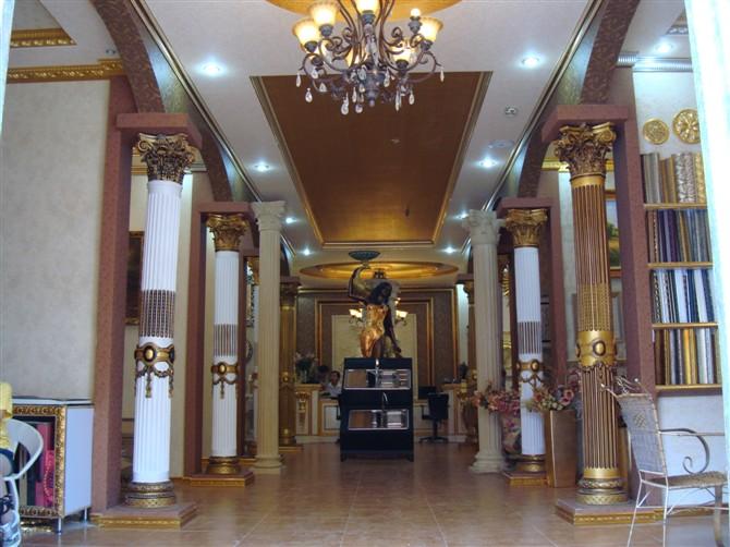 欧式风格罗马柱款式和装修效果图图片