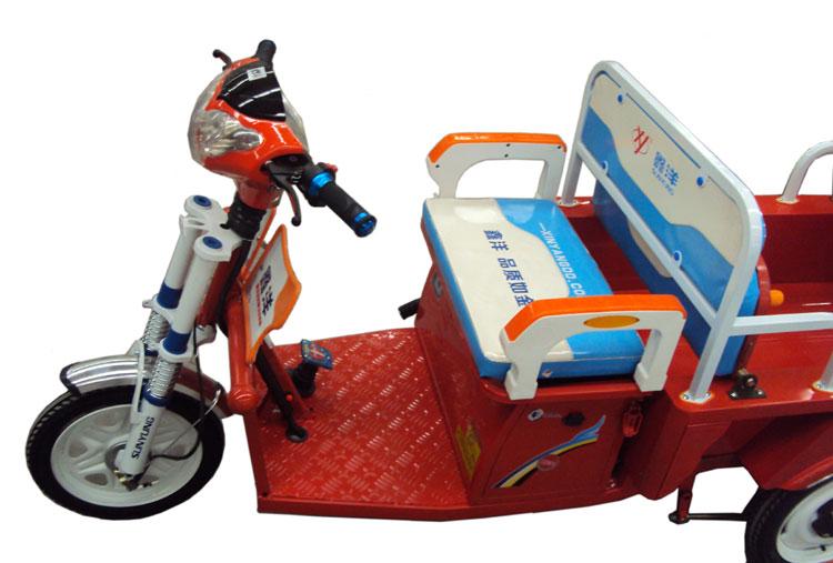 车电动三轮车          产品信息        商品名称: 鑫洋双排小客f1