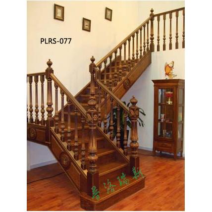 实木楼梯什么颜色好看【普洛瑞斯】帮您打造温馨复式