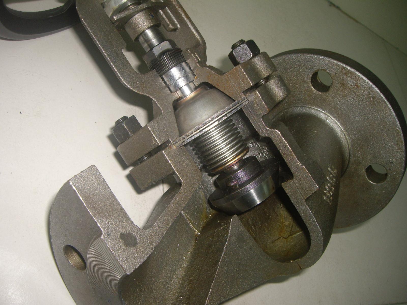 法兰截止阀 不锈钢法兰截止阀厂家图片