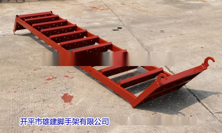 雄建新款爬梯建筑客机式a爬梯桥梁香蕉出口型标准纸图纸模型图片