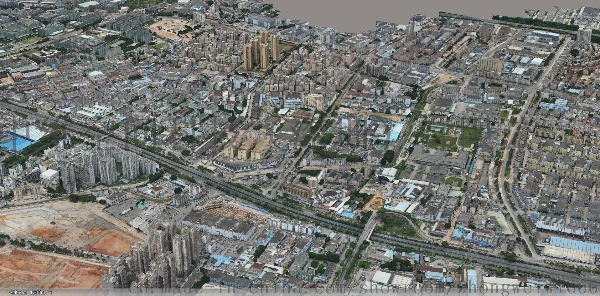 深圳市三维地图_深圳三维地图实景地图_卫星地图_微信公众号文章