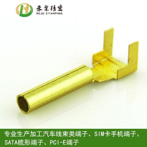 厂家直销铍铜端子  新能源汽车端子通信五金端子770691235