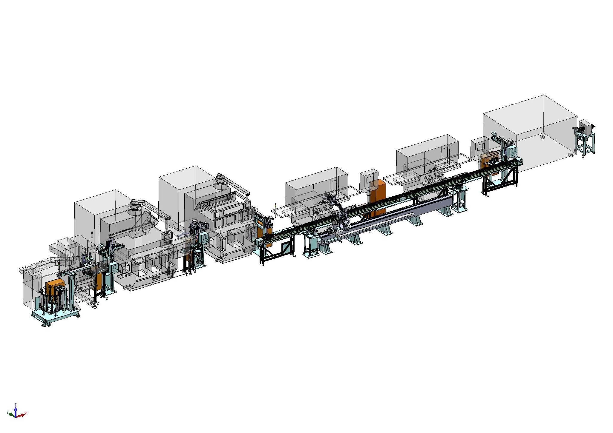 自动化生产线 机器人自动装配线 非标自动化设备