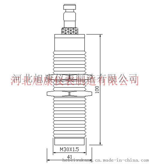 K-CT高精度小盲区超声波物(液)位变送器-1