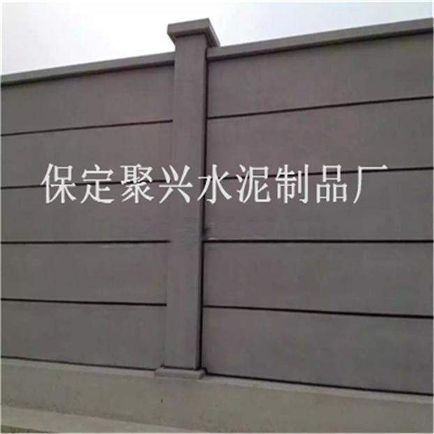 水泥基装配式围墙电缆槽盒图片
