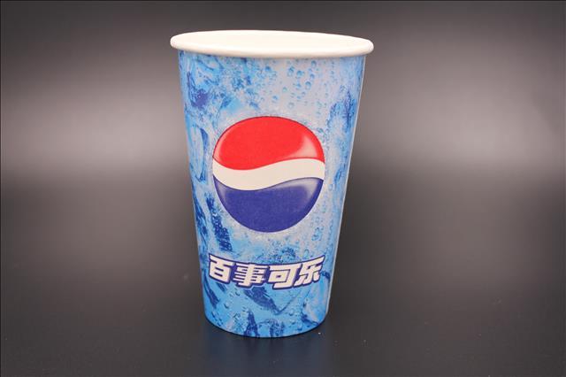 一次性纸杯16a一次性可乐杯电影院专用可乐杯厂家批发图片