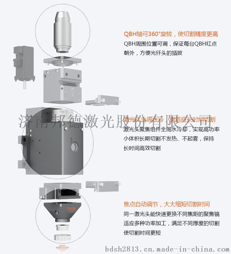 激光光纤切割机 邦德2000w光纤激光切割机37761632