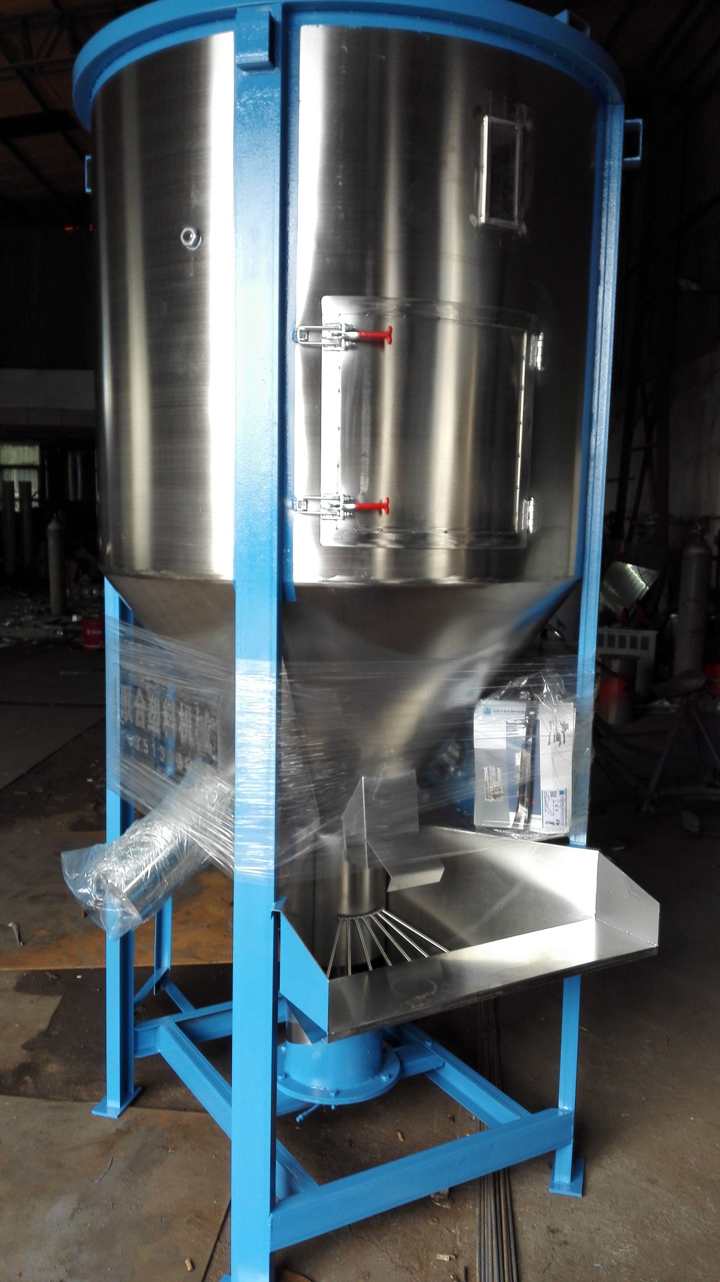 厂家直销大型不锈钢立式卧式搅拌机拌料机混合机图片