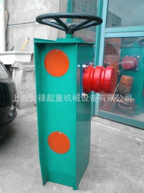 它是由重锤通过杠杆或由弹簧力使夹钳夹紧轨道,靠液压系统中油缸力图片