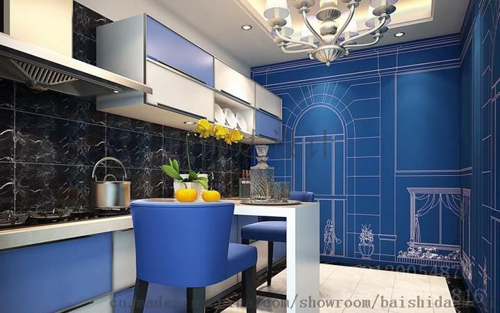 展馆设计,洁具展厅设计,橱柜公司展厅,百饰达更专业图片